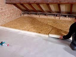 Krakende vloer u materialen voor constructie
